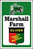 Oliver Tractor Sign Add Custom Name (10x14)