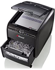 Save on Rexel Auto+ 60X 2103060 - Destructora con autoalimentación y corte en confeti para oficinas pequeñas (hasta 10 usuarios), papelera 15 l, negro and more