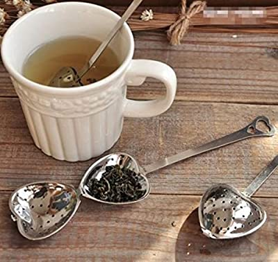 Money coming shop New Stainless Steel Infuser Spoon Tea Strainer Steeper Handle Shower Cute Tea Filter