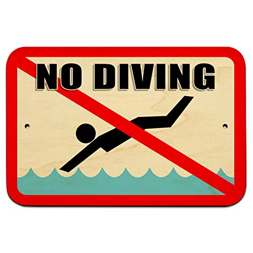 - No Diving - Pool Area 9