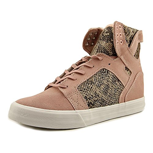 Rosa white Sneaker Donna brown Skytop Wedge Pink Supra wtqI0Eq