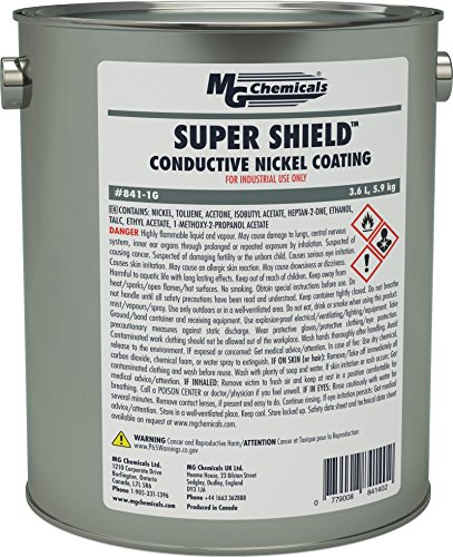 MG Chemicals Super Shield Nickel Conductive Coating, 1 Gal Can by MG Chemicals
