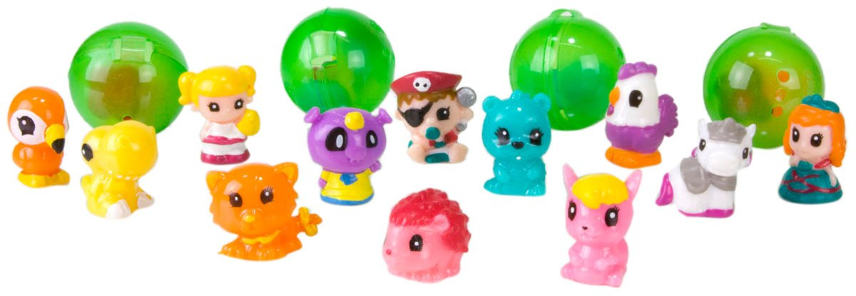 Disney-Princess-Squinkies-Set-Cinderella-Bubble-Pack-Boys-Barbie-Fuzzies thumbnail 31