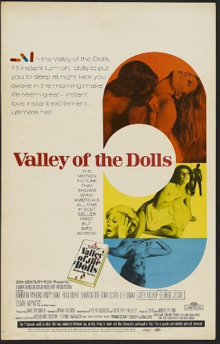 1967 Doll - Valley of the Dolls POSTER Movie (27 x 40 Inches - 69cm x 102cm) (1967) (Style C)