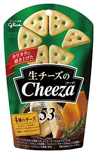 江崎グリコ 生チーズのチーザ(4種のチーズ) 40g×10個