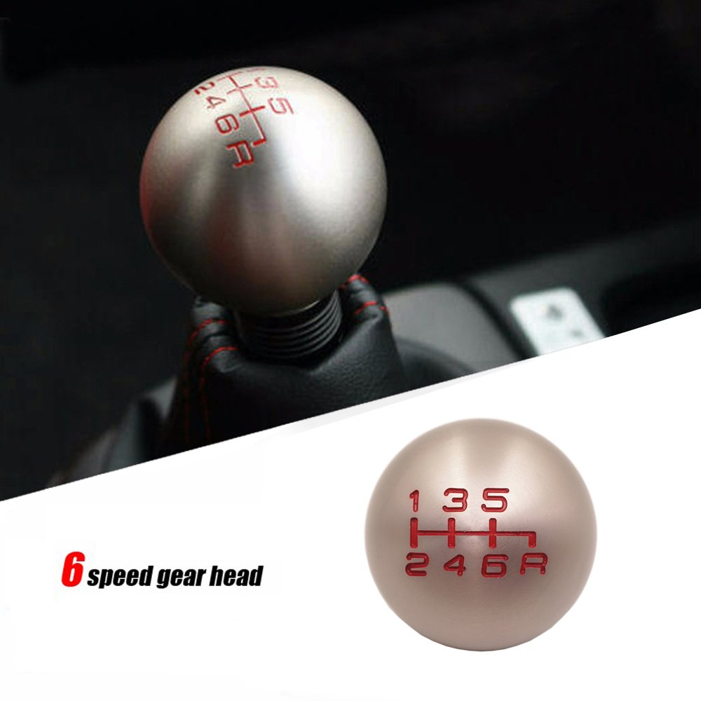 6 Speed Type-R Aluminum FD2 Racing Gear Shift Knob For JDM Honda Civic FN2 EP3 DC2 DC5 AP1 AP2 S2000 F20C Hwbnde