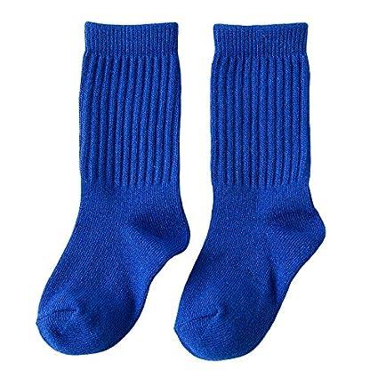Toddler Baby Boy Girl Socks 5 Pack Kid Cotton Crew Sock Set 1-9t