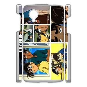 Google Nexus 5 Cases Cell Phone Case Cover Cartoon Detective Conan Case Closed 6R67R835642
