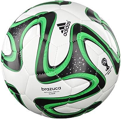 adidas Brazuca Glider - Balón de fútbol para Hombre Verde Solar ...