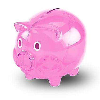 9a257cbbe Amazon.com  Transparent Cute Piggy Bank