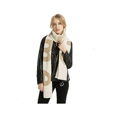 a0bb89a645a0 Femme Fille Homme Garçon Unisexe Mohair Extra Longue Très Épais Écharpe  tricotée  Amazon.fr  Vêtements et accessoires