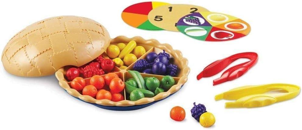 counting sorting pie math manipulative for kindergarteners