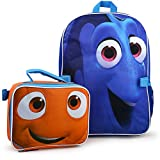 "Disney Finding Dory 16"" backpack With Lunch kit"