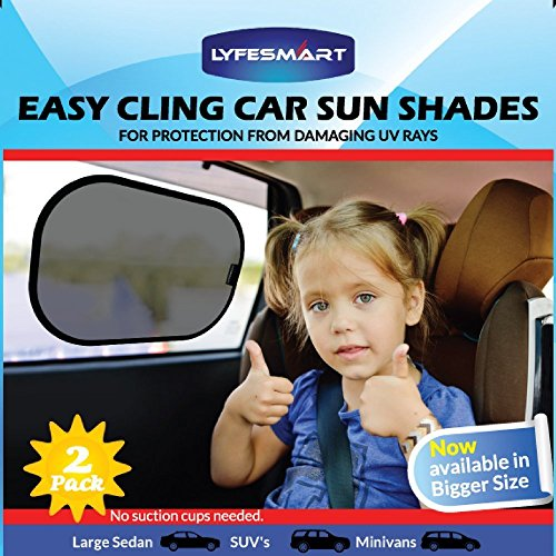 car-window-shade-large-2-pack-by-lyfesmart-for-suvs-and-minivans-premium-baby-car-sun-shade-easy-cli