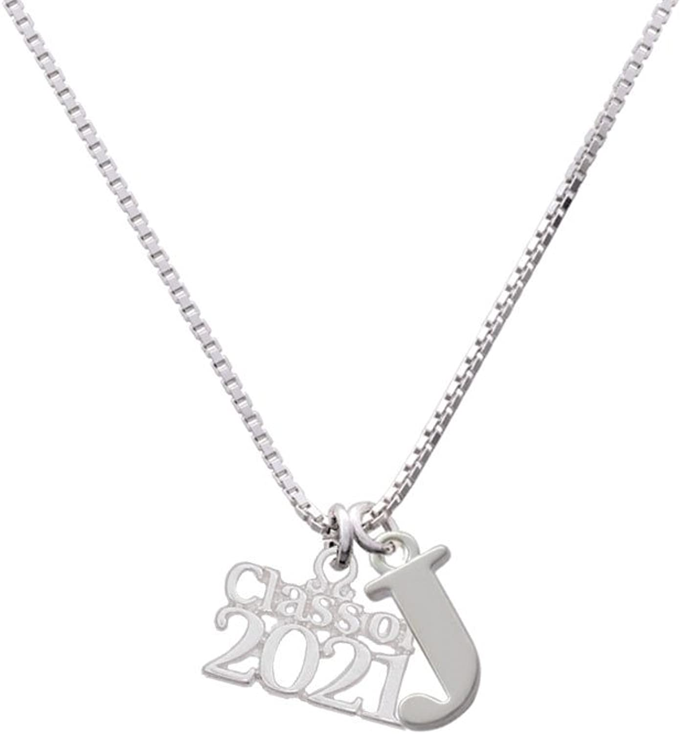 Delight Jewelry Class of 2021 - Capital Initial Necklace