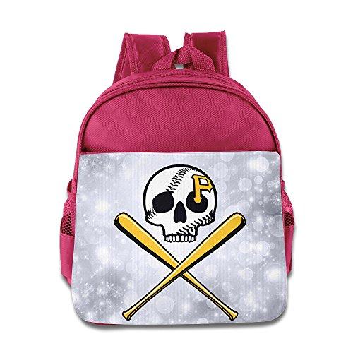 BADOU Pittsburgh Pirate Kid Bags Size Size Key Pink