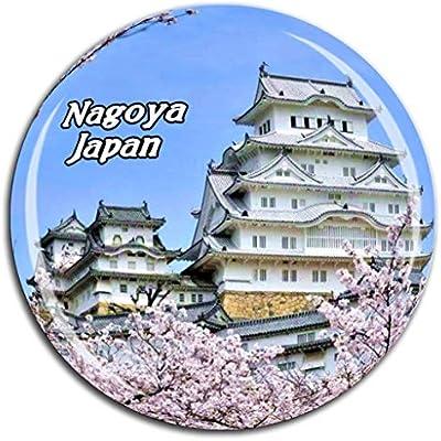 Weekino Castillo de Nagoya Japón Imán de Nevera Cristal 3D Cristal ...
