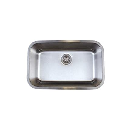 Blanco BL441024 Stellar Super Single Bowl Undermount Sink, Refined Brushed