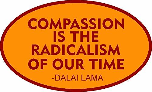 Compassion Sticker - ION Graphics Compassion Buddha Sticker Namaste Om Spiritual Hindu Decal Bumper Yin Yang
