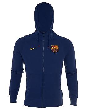 Nike Jacke AW77 FC Barcelona Authentic Fleece Hoody - Chaqueta para hombre 68f95da6446
