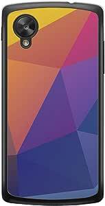 Loud Universe Nexus 5 Geometrical Printing Files A Geo 44 Printed Transparent Edge Case - Multi Color