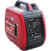 Smarter Tools STAP-2000iQ 2000W Parallel Capable Inverter Generator with Yamaha Engine, Gasoline Powered, 8 Hours...