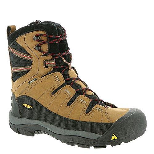 KEEN Men's Summit County Waterproof Winter Boot,Dark Earth/Bossa Nova,11 M US