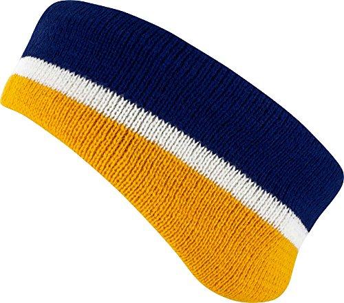 Field & Stream Team Sports Headband - Blue/Yellow Blue Sideline Headband