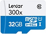 Lexar High-Performance MicroSDHC 300x 32GB UHS-I/U1...