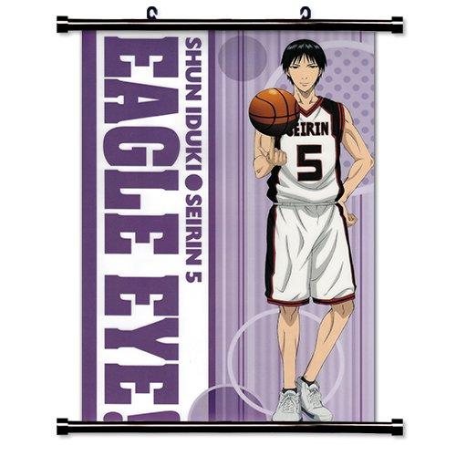 Kuroko No Basket Anime Fabric Wall Scroll Poster (16