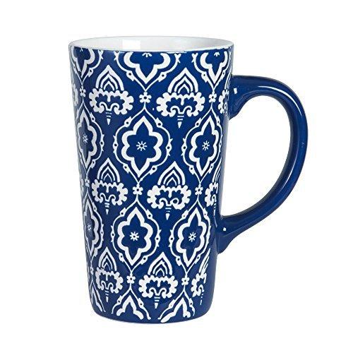 Stadium Mug - Pfaltzgraff Tall Stadium Blue Large Coffee Mug 16 Ounce