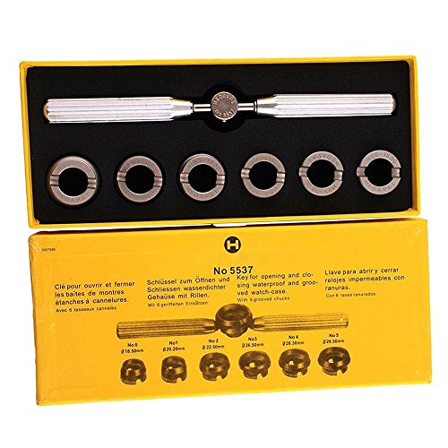 Watch Back Case Opener Repair Remover Screw Wrench Tool New - 8