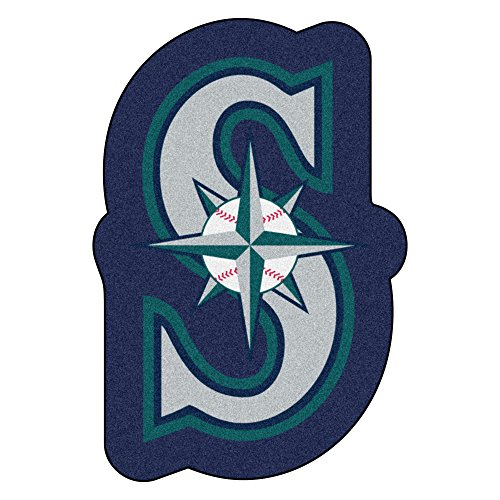 (FANMATS MLB Seattle Mariners Mascot Mat, Team Color, One Size)
