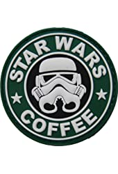 Star Wars Coffee Velcro Morale Patch
