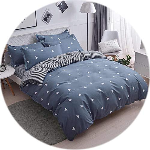 Memoirs- Cartoon Bedding Set Polar Bear Bed Linen Euro Double Bedspread Nordic Style Bed Linen Set Duvet Cover Bedclothes ()