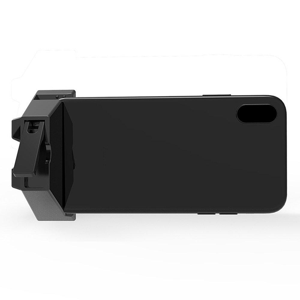 Huayang - Soporte de plástico para Amplificador de Sonido, Soporte para Altavoces de Audio para teléfonos móviles de 6 a 10 mm Cuando se ve y Disfruta de la ...