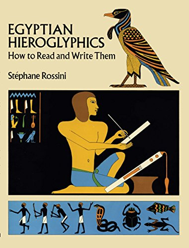 Egyptian Hieroglyphics: How to Read and Write Them [Stephane Rossini] (Tapa Blanda)