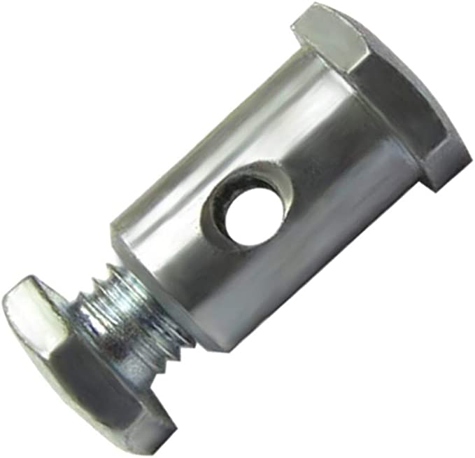 UNIVERSAL ADJUSTABLE CABLE BARREL CLAMP ADJUSTER BIKE MOTORCYCLE LAWN MOWER NEW