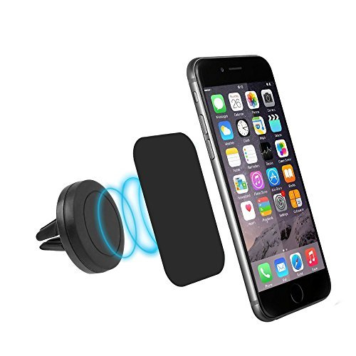 Air Vent Car Mount - Egrace Magnetic Air Vent Car Mount Cell Phone Holder For Sumsang Galaxy S7/Note 4, LG G4,NEXUS 6P, Apple iPhone 6 plus 6plus 5S , All Android Cellphone