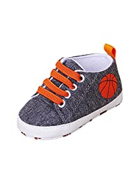 Banstore Baby Girls Shoes,Unisex Newborn Infant Baby Boys Toddler Shoes Soft Sole Anti-Slip Sneakers Lace Up Flats Shoes Cute