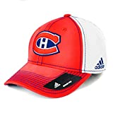 Montreal Canadiens Adidas 100th Year Structured Flex Fit Hat (Small/Medium)