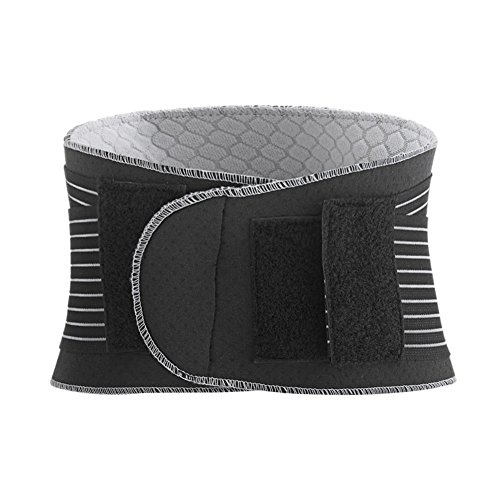 [Waist Belt Back Spine Therapy Support Adjustable Pull Heat Elastic Lumbar Brace] (Loggers And Joggers Costume)