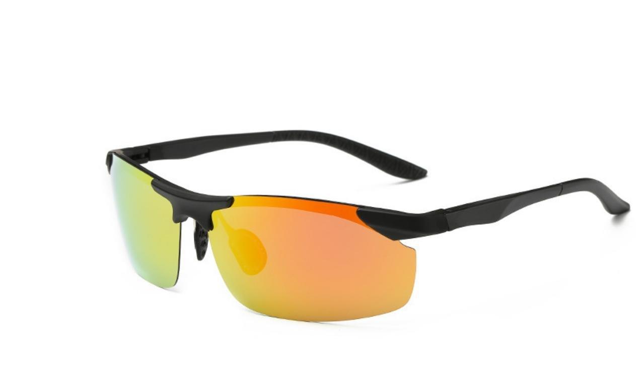 HHORD En bicicleta espejo rana polarizado gafas de sol lentes gafas de pesca al aire libre , 5: Amazon.es: Deportes y aire libre