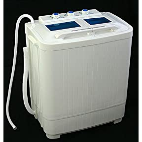 New Portable mini small rv dorms Compact 8 - 9lb Washing Machines Spin Dryer Laundry