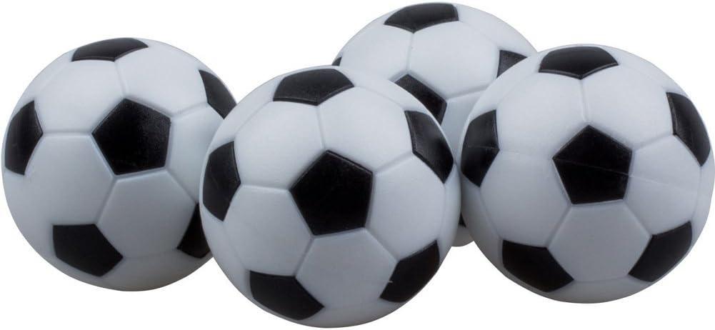 Yeelan Juego de Foosball de Futbol de Mesa, Paquete de 8PCS (Negro ...