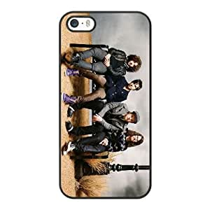 Fall out boy M6L5FW7I Caso funda iPhone 5 5s Caso funda del teléfono celular Negro