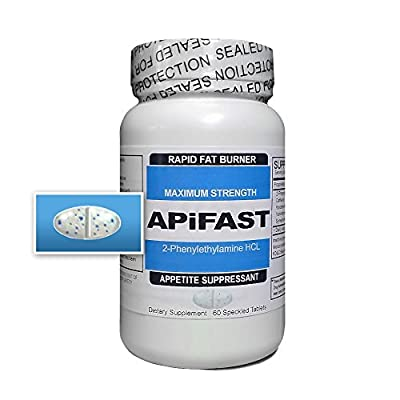 APiFAST - Rapid Fat Burning Diet Pills - Increased Fat Metabolism & Energy - Appetite Suppressant - Clinically Proven Weight Loss Ingredients Made in USA - (Tablets 60 - 1 Month)
