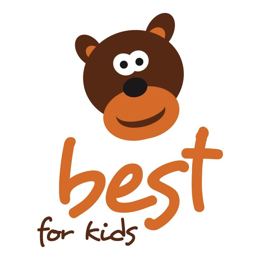 Best For Kids Kinderbettmatratze Reisebettmatratze Babymatratze Schaumstoff Matratze 70x140cm Blau