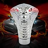 Best Shift Knob For Cars - DeemoShop Silver 10 x 7cm Snake Gear Shift Review