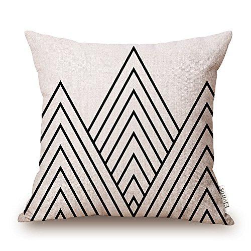 elviros-linen-cotton-blend-decorative-geometric-design-zippered-throw-pillow-cover-18x18